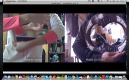 """Test """"Face à face"""" , Chili-France en direct, 2016, université du Chili et Licence 3, danse, université de Strasbourg."""